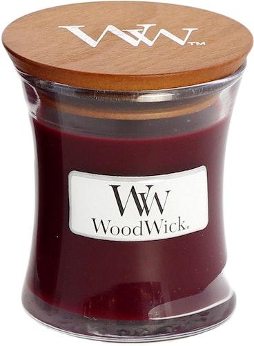 WoodWick - Black Cherry - Litet Doftljus