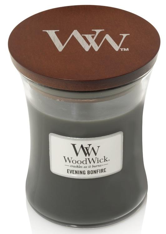WoodWick - Evening Bonfire - Litet Doftljus