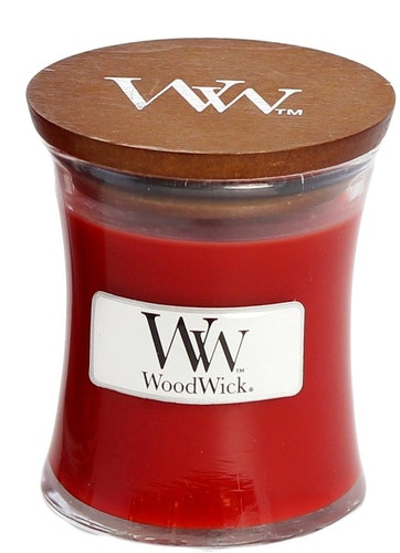 WoodWick - Cinnamon Chai Juldoft - Litet Doftljus