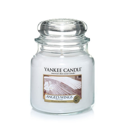 YANKEE CANDLE - ANGEL´S WINGS - MEDIUM DOFTLJUS