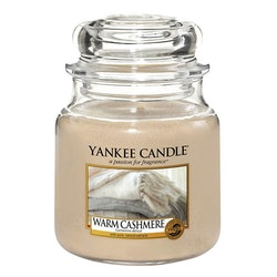 YANKEE CANDLE - WARM CASHMERE - MEDIUM DOFTLJUS