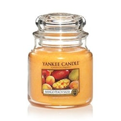 YANKEE CANDLE - MANGO PEACH SALSA - MEDIUM DOFTLJUS