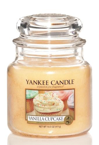 Yankee Candle Vanilla Cupcake medium doftljus