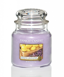 YANKEE CANDLE - LEMON LAVENDER - MEDIUM DOFTLJUS