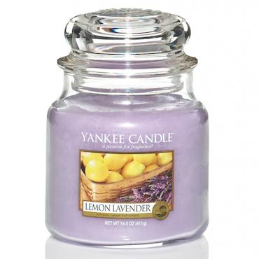 Yankee Candle Lemon Lavender Medium Doftljus