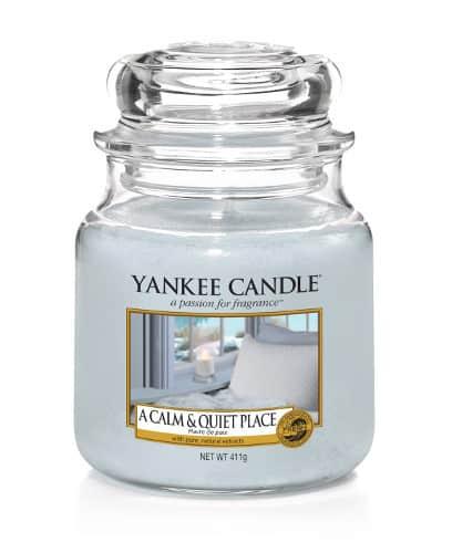 Yankee Candle - A Calm & Quiet Place - Medium Doftljus
