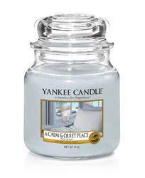Yankee Candle - A Calm & Quiet Place - Medium Doftljus