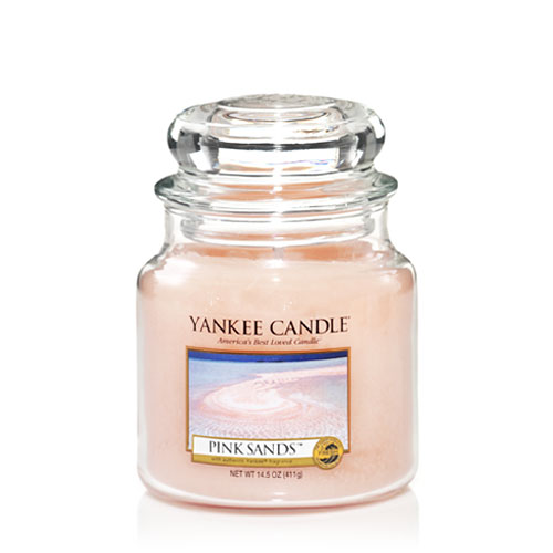 Yankee Candle - Pink Sands - Medium Doftljus