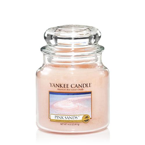 YANKEE CANDLE - PINK SANDS - MEDIUM DOFTLJUS