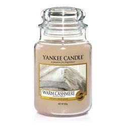 Yankee Candle - Warm Cashmere - Stort Doftljus