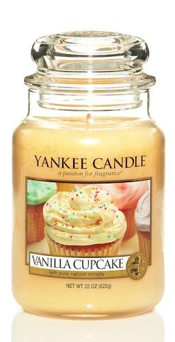 Yankee Candle - Vanilla Cupcake - Stort doftljus