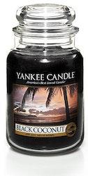 Yankee Candle - Black coconut - Stort doftljus