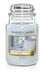 YANKEE CANDLE - A CALM & QUIET PLACE - STORT DOFTLJUS