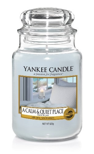 Yankee Candle - A calm & quiet place - Stort doftljus