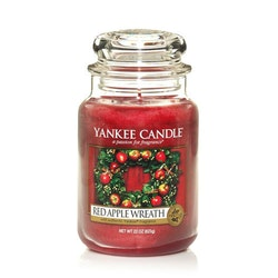 Yankee Candle - Red apple wreath - Stort doftljus