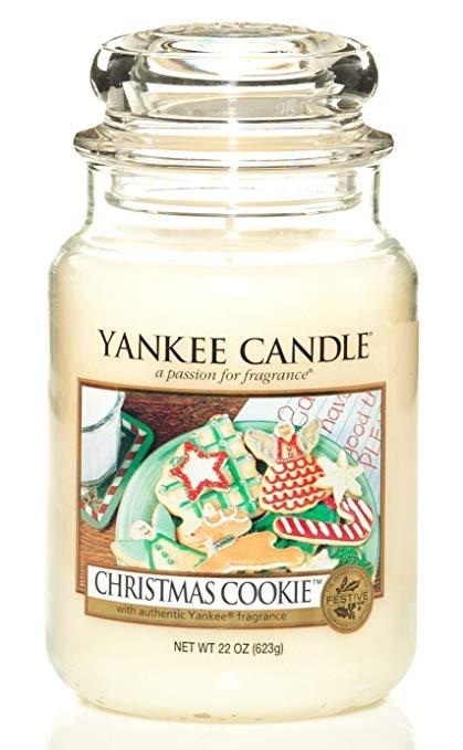 Yankee Candle - Christmas cookie - Stort doftljus