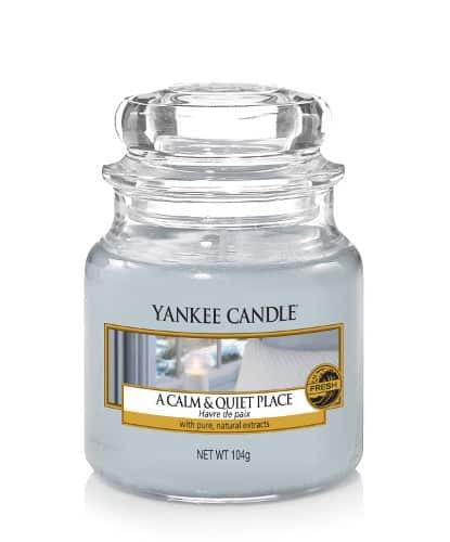 Yankee Candle - a calm & quiet place - litet doftljus