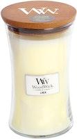 WoodWick - Linen (Nytvättat linne) - Stort Doftljus