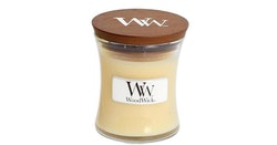 WoodWick - Vanilla Bean - Litet Doftljus