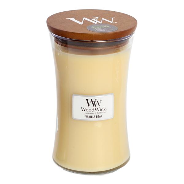 WoodWick Vanilla Bean Stort Doftljus