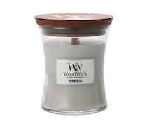 WoodWick - Warm Wool - Litet Doftljus