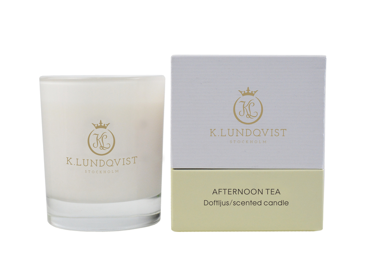 K. Lundqvist - Doftljus - Afternoon Tea (nybryggt té)