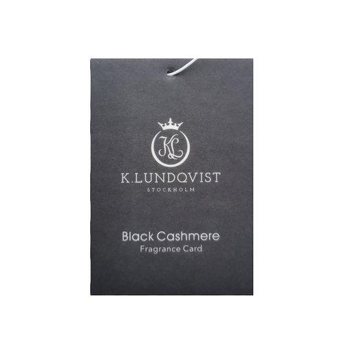 K. Lundqvist - Bildoft Black Cashmere - Bärnsten, patchouli och lavendel  (Utgående modell)
