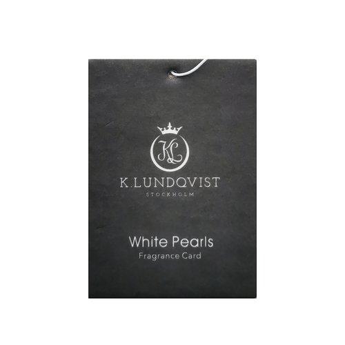 K. Lundqvist - Bildoft White Pearls - Nytvättat