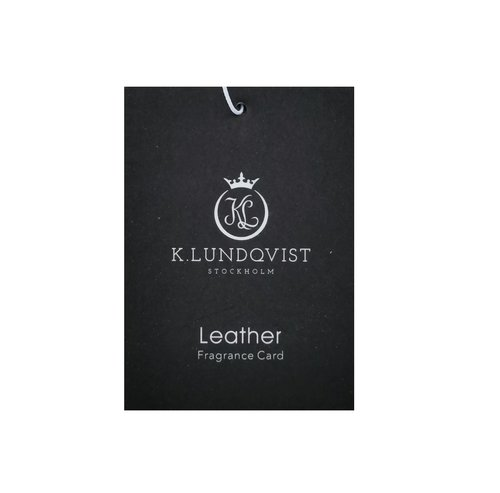 K. Lundqvist - Bildoft Leather - Ek, balsamico och citrus