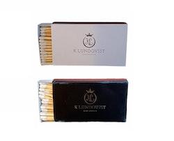 K. Lundqvist - Tändstickor 2-pack - Extra långa stickor
