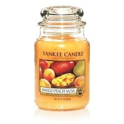 Yankee Candle - Mango Peach Salsa - Stort Doftljus