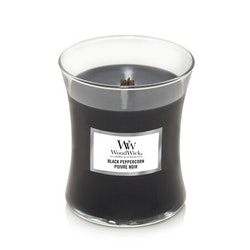 WoodWick Black Peppercorn Medium Doftljus