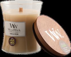 WoodWick - Vanilla Bean - Mellan Doftljus