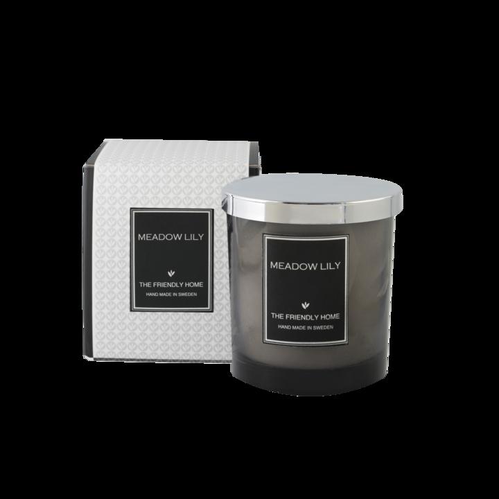 The Friendly Home - Smoke Elegance Doftljus - Meadow Lily