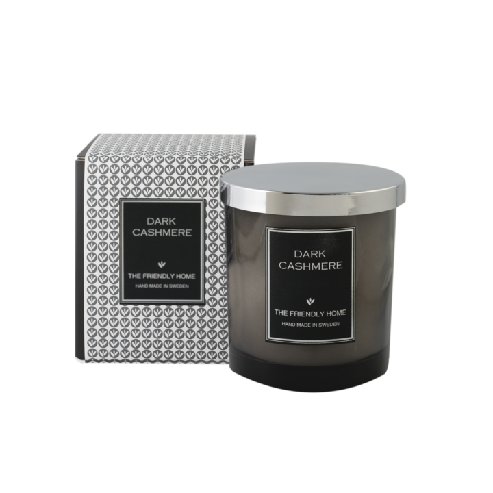 The Friendly Home - Smoke Elegance Doftljus - Dark Cashmere