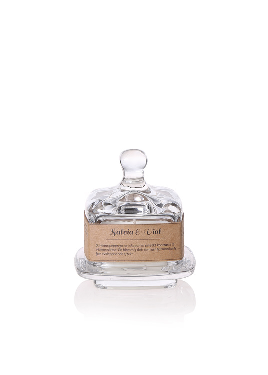 Torplyktan Doftljus - Kryddskafferiet - Salvia & Viol