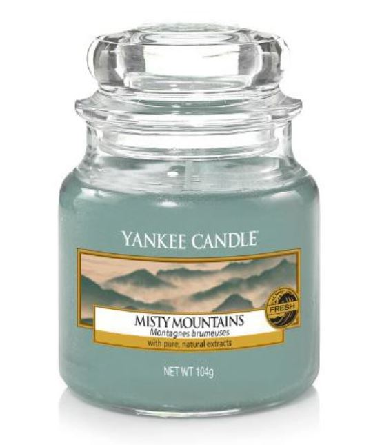 Yankee Candle - Misty Mountains - Litet doftljus