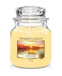 Yankee Candle - Autumn Sunset - Mellan doftljus