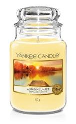 Yankee Candle - Autumn Sunset - Stort doftljus
