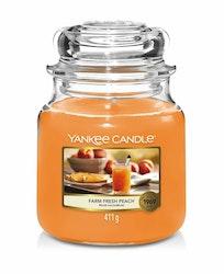 Yankee Candle - Farm Fresh Peach - Mellan doftljus