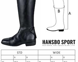 Ridstövlar, 36, Hansbo