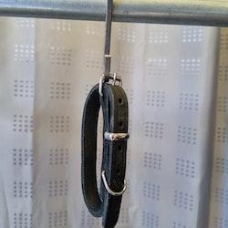 Läderhalsband, 35cm