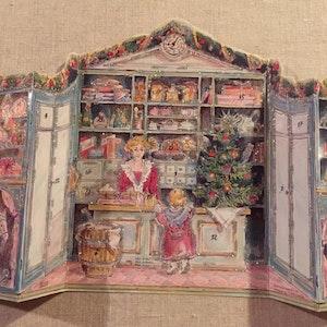 Vintage Adventskalender - Lanthandel