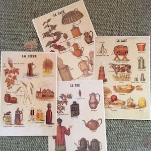 Vintage Vykort - 4pack
