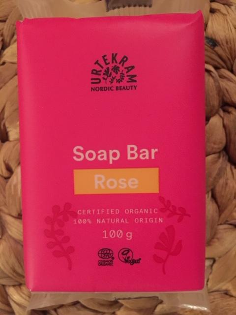 Urtekram - Tvål - Rose