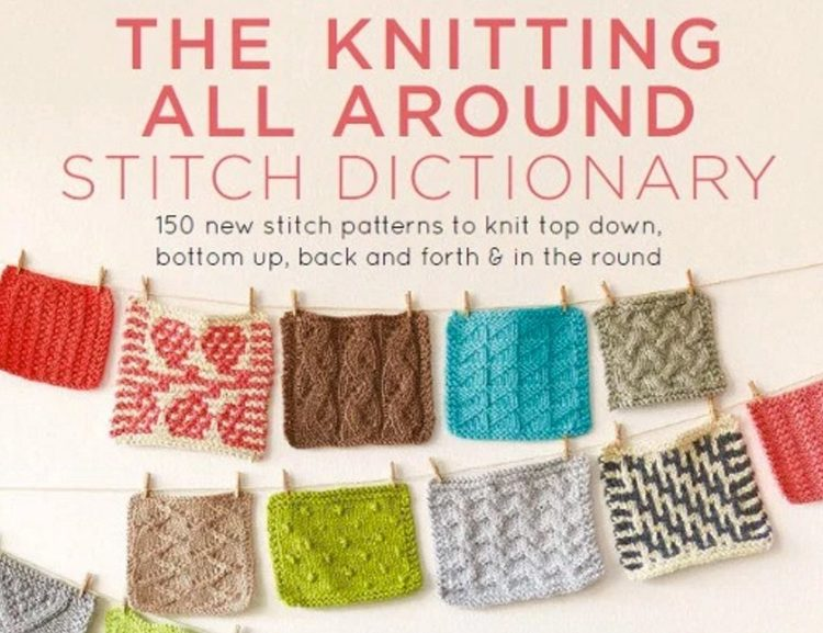 Wendy Bernard - Knitting Around Stitch Dictionary