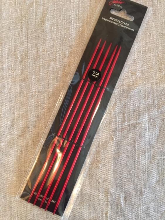 Strumpstickor - Järbo - 3mm - längd 20cm