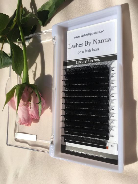 Silk Mink Volym Lashes D Curl 0.07 -  14 mm rekommenderas av LashesByNanna