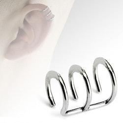 Fake helix piercing dubbel