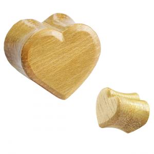 Tiki heart plug